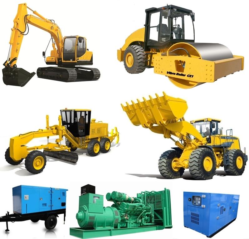 Genset and Heavy Equipment